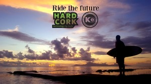 Ride the future with Hardcork & Kevin Olsen Surfboards